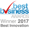 Best Business Awards Winner 2017 Best Innovation
