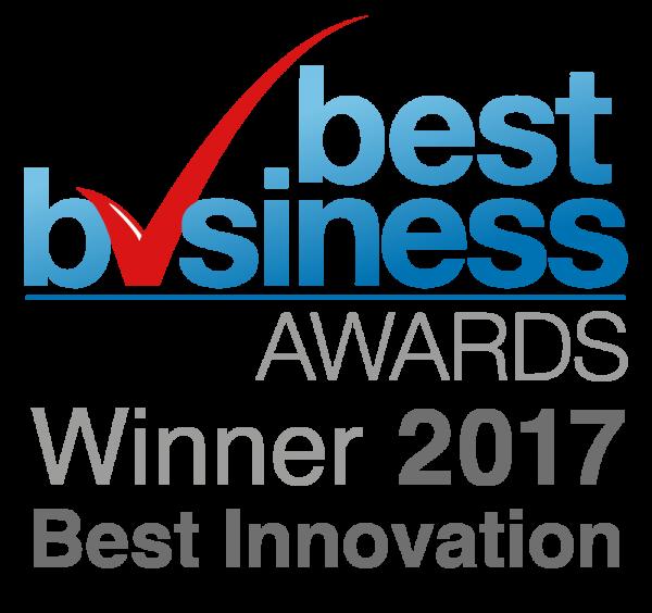 Best Business Awards Winner 2017 Best Innovation