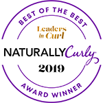 Naturally Curly Award 2019