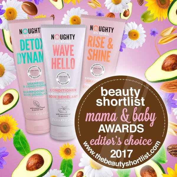 Noughty Wins Beauty Shortlist Awards