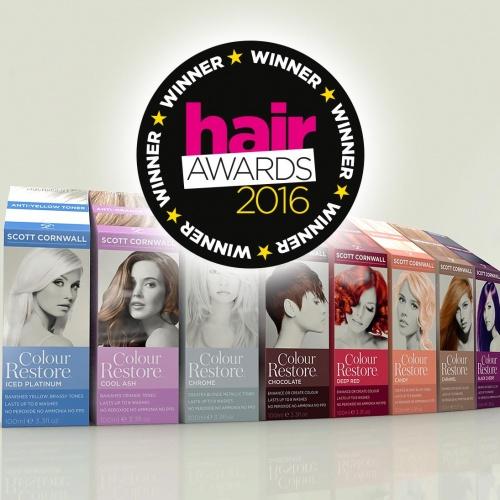 Scott Cornwall Hair Awards Winner 2016