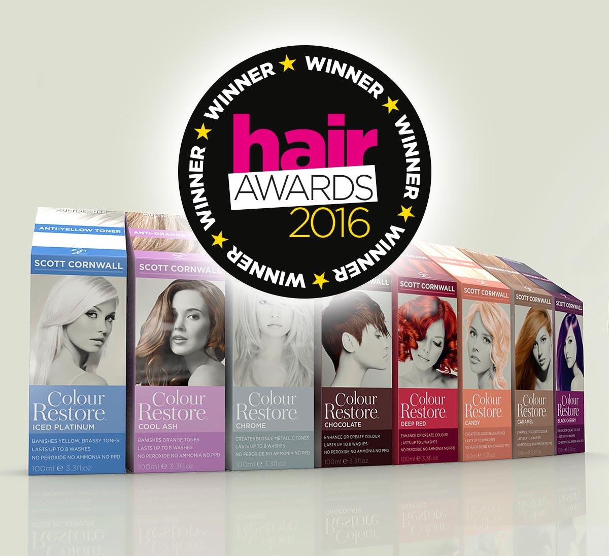 Scott Cornwall Hair Awards Winner 2016