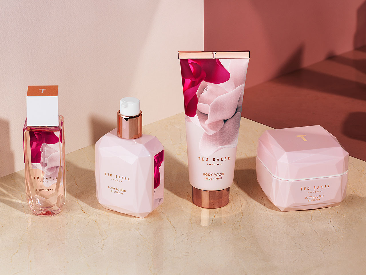 Ted Baker Porcelain Rose Bath & Body Collection