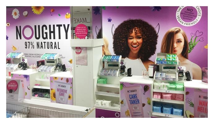 Noughty takes over Superdrug