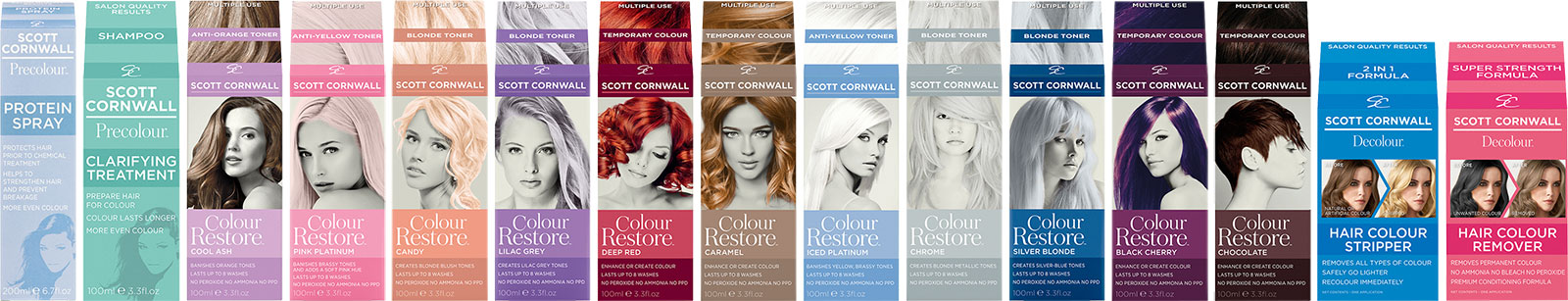 Scott Cornwall Product Range